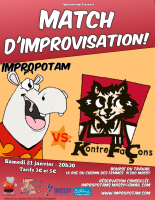 Match: Impropotam vs Kontrefaçons