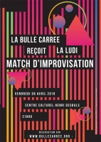 Match Bulle Carrée vs Ludi