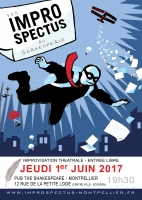 Spectacle d'impro au Shakespeare
